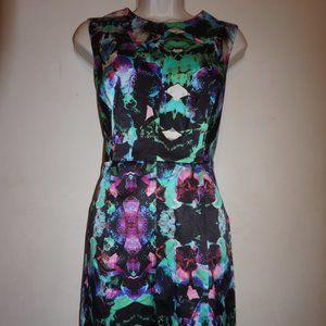 Milly Coco Satin Sheath Dress size 8 NWT